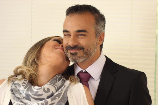 Ana e Joao  pais da noiva